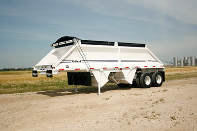 mx2000 gravel trailer