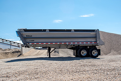 sx2400 gravel trailer