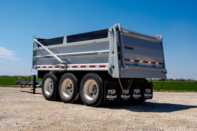 xl3100 gravel trailer