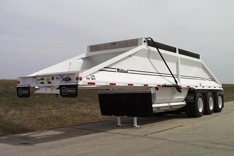 MC belly/bottom dump gravel Trailer