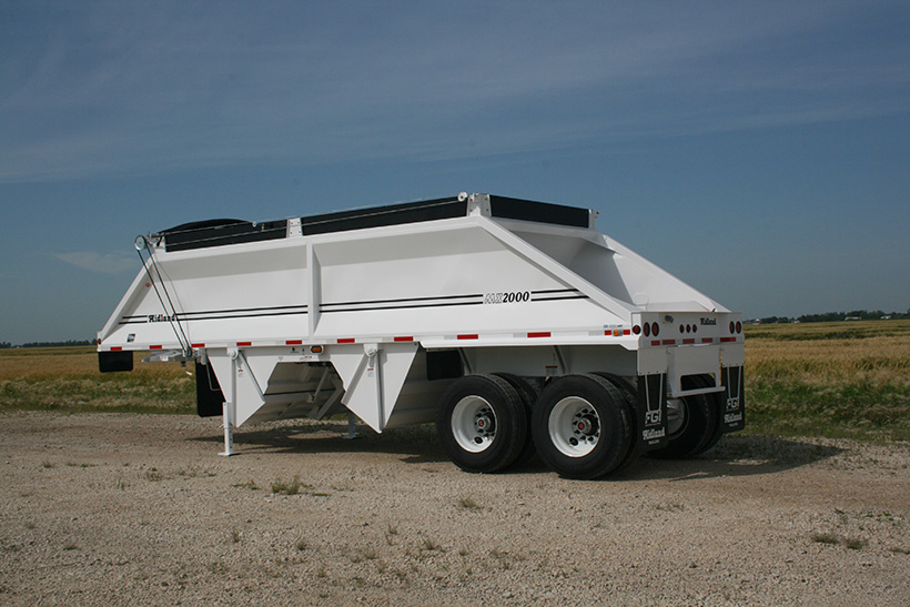 MX Belly/Bottom Dump Gravel Trailer