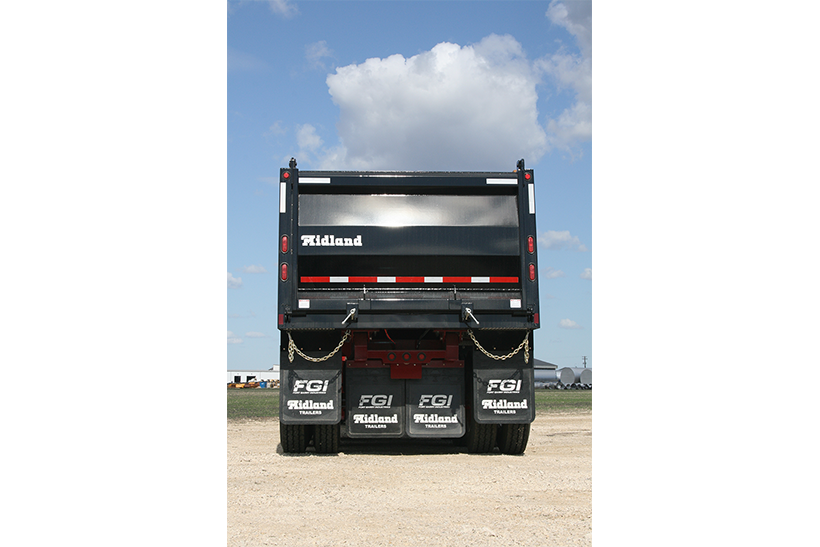 SLX End Dump Gravel Trailer
