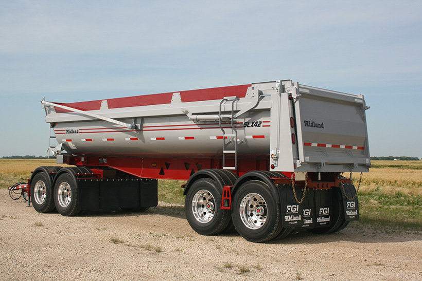 End Dump Gravel Wagon