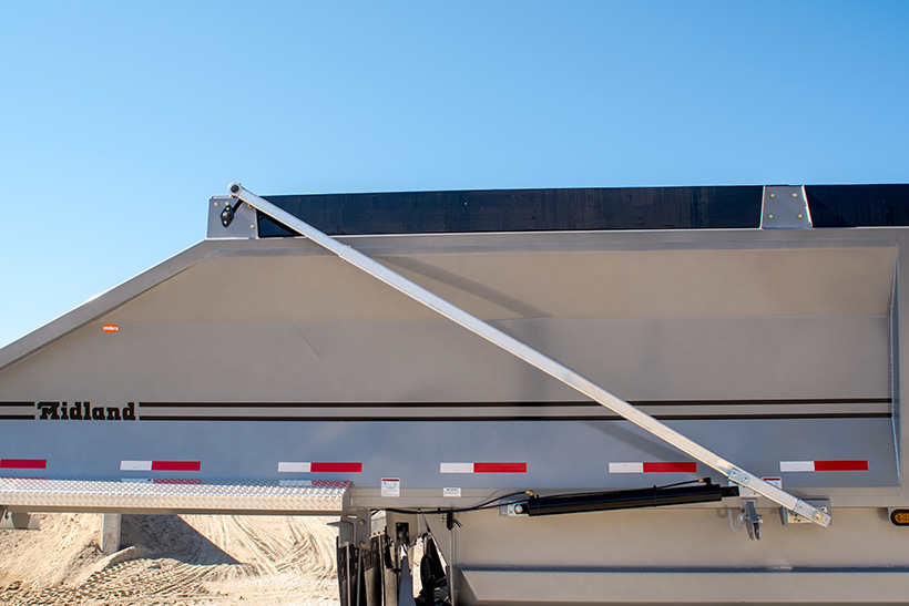 TC Belly/Bottom Dump Gravel Trailer