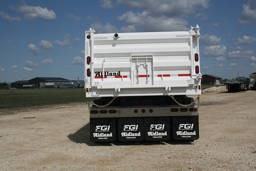 XL End Dump Gravel Trailer